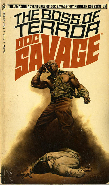 Doc Savage The Boss of Terror