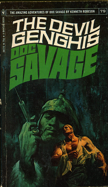 Doc Savage The devil Genghis