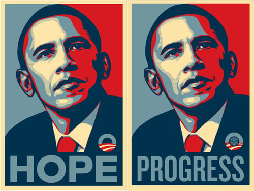 barack obama hope shepard fairey obey