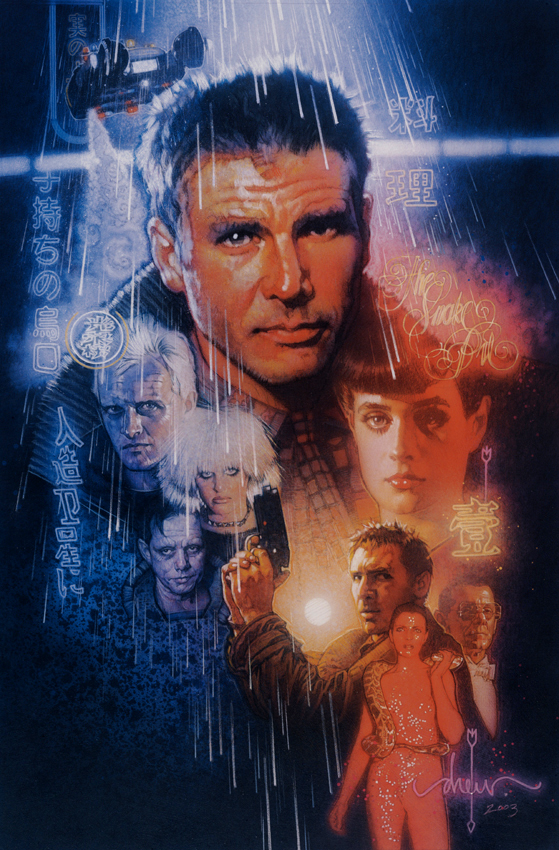 Blade Runner Drew Struzan