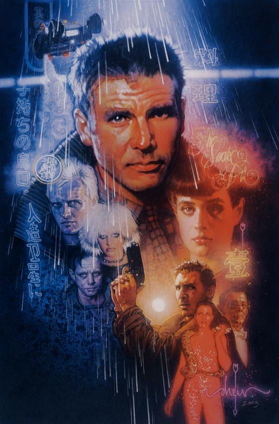 Blade Runner Drew Struzan