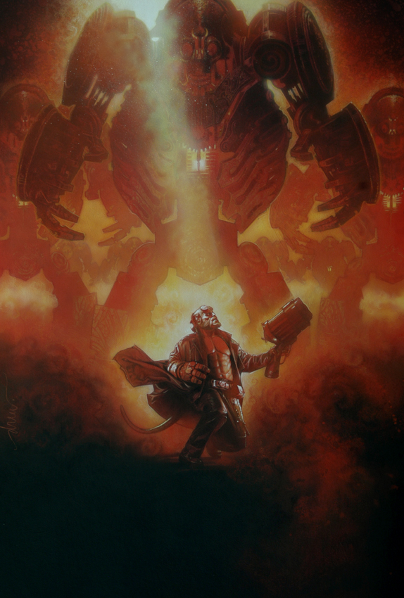 Hellboy Drew Struzan