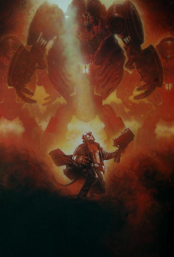 Hellboy Drew Struzan
