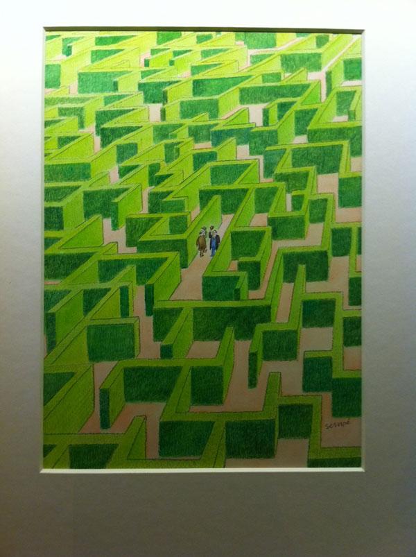 Labyrinthe vert rencontre Sempé