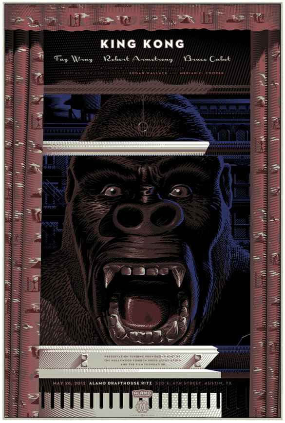 laurent durieux king kong face