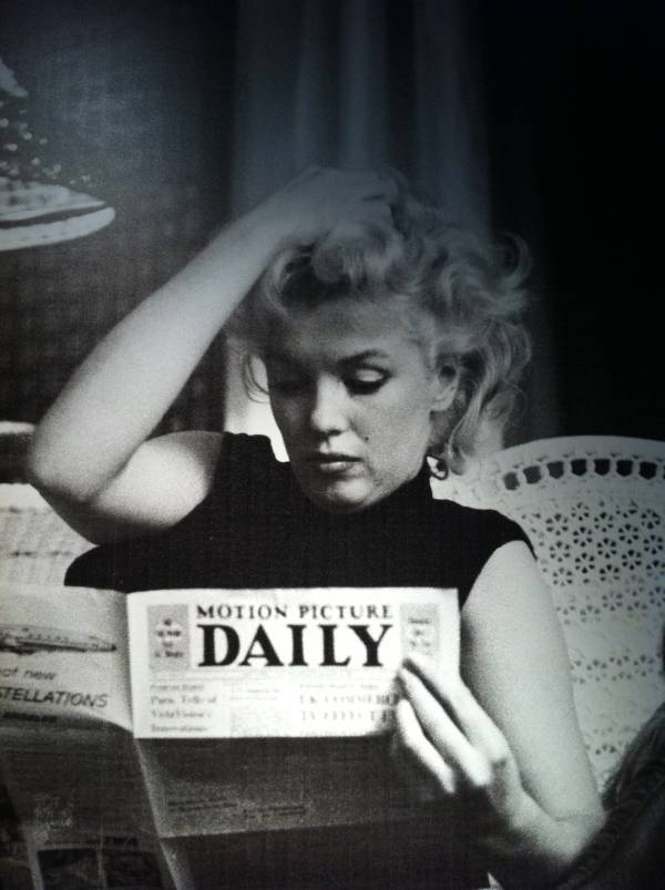 marilyn monroe motion picture daily