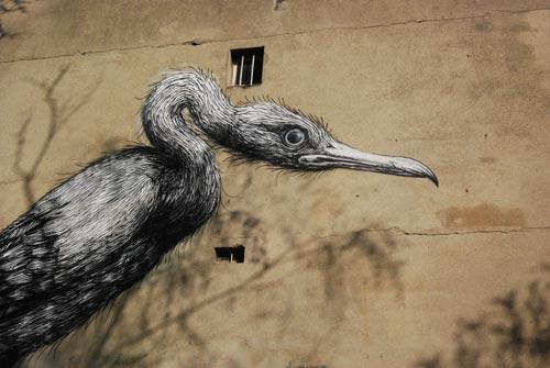 Oiseau géant Vitry sur seine / Photo Stéphane Demolombe 1