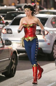palicki wonder woman set photo costume 2011