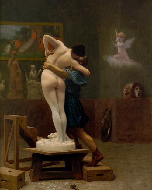 Pygmalion et Galatée 1890 Jean-Léon Gérôme
