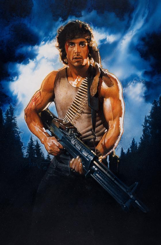 Rambo Drew Struzan