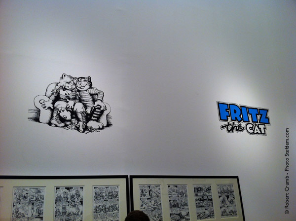 robert crumb exposition fritz the cat
