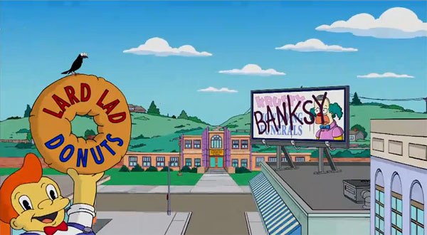 simpsons banksy open title