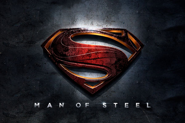 superman man of steel logo