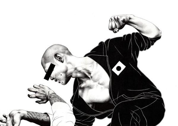 violent yakuza shohei hakuchi